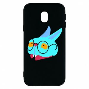 Etui na Samsung J3 2017 Rabbit with glasses