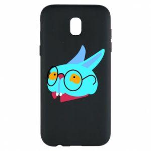 Phone case for Samsung J5 2017 Rabbit with glasses - PrintSalon