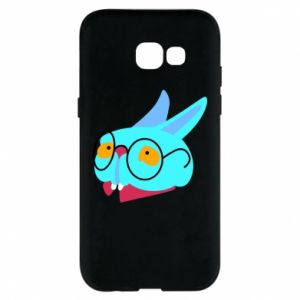 Phone case for Samsung A5 2017 Rabbit with glasses - PrintSalon