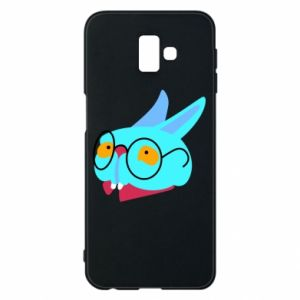 Phone case for Samsung J6 Plus 2018 Rabbit with glasses - PrintSalon