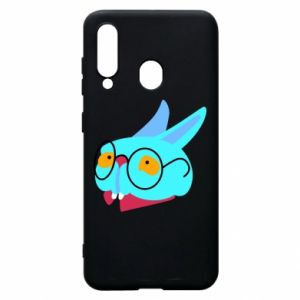 Etui na Samsung A60 Rabbit with glasses