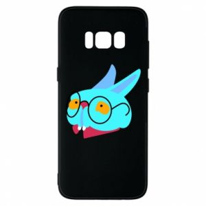 Etui na Samsung S8 Rabbit with glasses