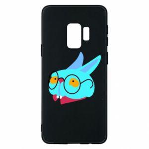 Phone case for Samsung S9 Rabbit with glasses - PrintSalon