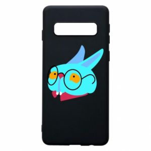 Etui na Samsung S10 Rabbit with glasses