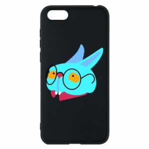 Phone case for Huawei Y5 2018 Rabbit with glasses - PrintSalon