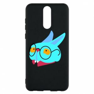 Phone case for Huawei Mate 10 Lite Rabbit with glasses - PrintSalon