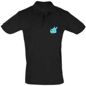 Men's Polo shirt Rabbit with glasses - PrintSalon