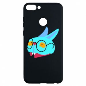 Phone case for Huawei P Smart Rabbit with glasses - PrintSalon