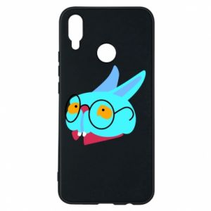 Phone case for Huawei P Smart Plus Rabbit with glasses - PrintSalon