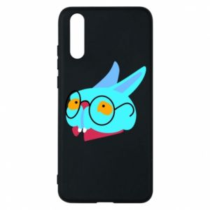 Phone case for Huawei P20 Rabbit with glasses - PrintSalon