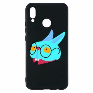 Phone case for Huawei P20 Lite Rabbit with glasses - PrintSalon