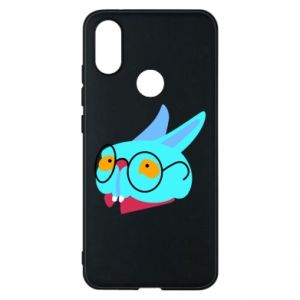Phone case for Xiaomi Mi A2 Rabbit with glasses - PrintSalon