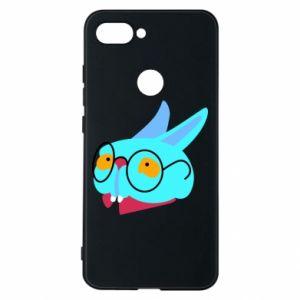 Phone case for Xiaomi Mi8 Lite Rabbit with glasses - PrintSalon