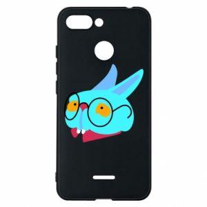 Phone case for Xiaomi Redmi 6 Rabbit with glasses - PrintSalon