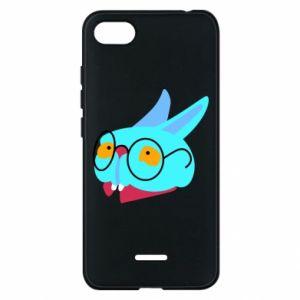 Phone case for Xiaomi Redmi 6A Rabbit with glasses - PrintSalon