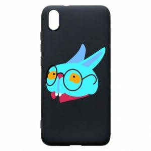 Phone case for Xiaomi Redmi 7A Rabbit with glasses - PrintSalon