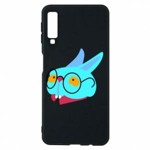 Phone case for Samsung A7 2018 Rabbit with glasses - PrintSalon
