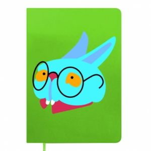 Notes Rabbit with glasses