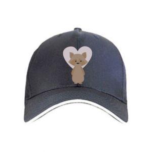 Czapka Raccoon with heart