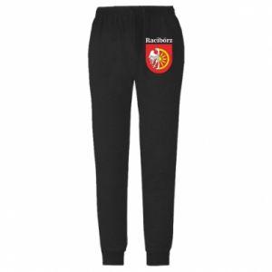 Męskie spodnie lekkie Racibórz, herb - PrintSalon