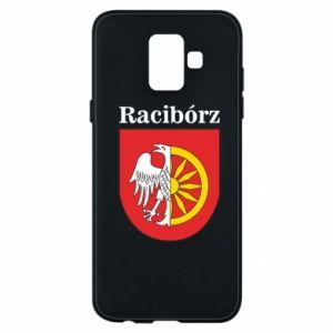 Phone case for Samsung A6 2018 Raciborz, emblem