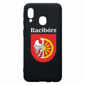 Phone case for Samsung A40 Raciborz, emblem