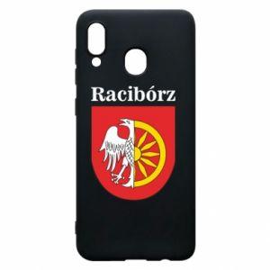 Phone case for Samsung A30 Raciborz, emblem