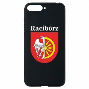 Phone case for Huawei Y6 2018 Raciborz, emblem