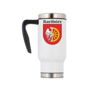 Travel mug Raciborz, emblem