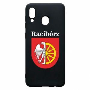 Phone case for Samsung A20 Raciborz, emblem