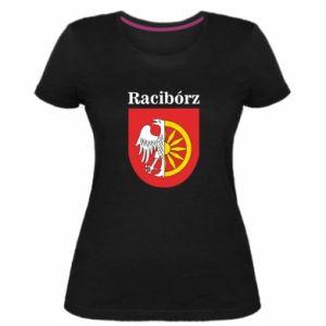 Women's premium t-shirt Raciborz, emblem