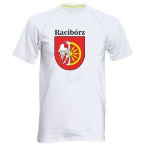 Men's sports t-shirt Raciborz, emblem