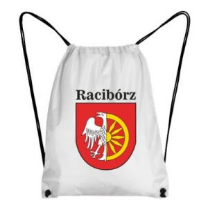 Backpack-bag Raciborz, emblem