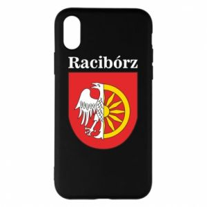 iPhone X/Xs Case Raciborz, emblem