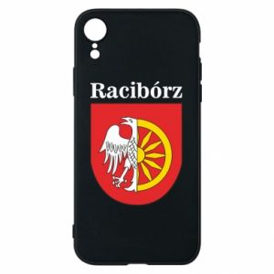 iPhone XR Case Raciborz, emblem
