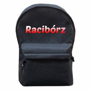 Backpack with front pocket Raciborz