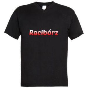 Men's V-neck t-shirt Raciborz