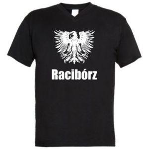 Męska koszulka V-neck Racibórz