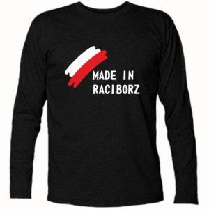 Koszulka z długim rękawem Made in Raciborz