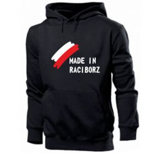 Men's hoodie Made in Raciborz