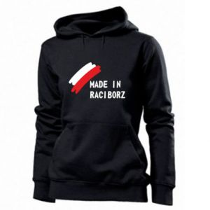 Women's hoodies Made in Raciborz