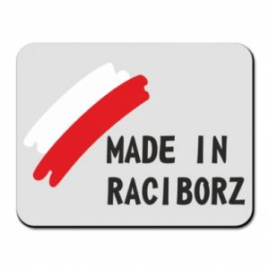 Mouse pad Made in Raciborz
