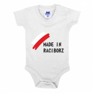 Baby bodysuit Made in Raciborz