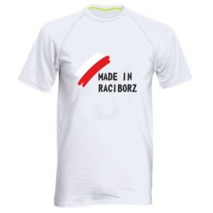 Men's sports t-shirt Made in Raciborz