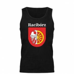 Męska koszulka Racibórz, herb - PrintSalon