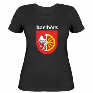 Women's t-shirt Raciborz, emblem