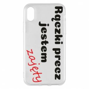 Phone case for iPhone X/Xs I'm not free...