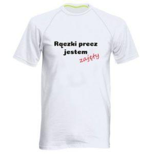 Men's sports t-shirt I'm not free...