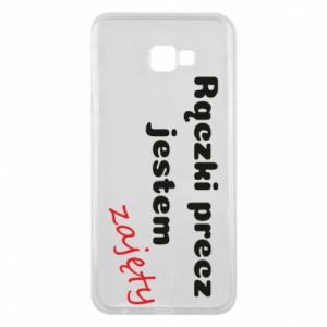 Phone case for Samsung J4 Plus 2018 I'm not free...
