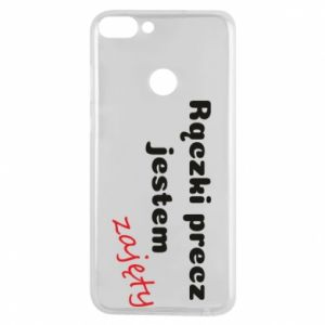 Phone case for Huawei P Smart I'm not free...